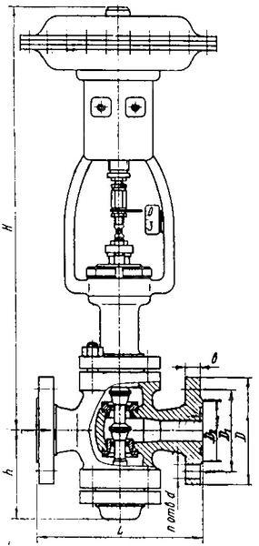 Клапан 25нж50нж50М1