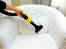 Как почистить кресло и его обивку?