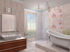 Отделка ванной комнаты пластиковыми панелями: советы по выбору и монтажу