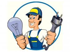 Услуги электрика при больших переделках и установке осветительных приборов