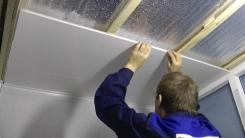 Отделка панелями ПВХ стен и других поверхностей