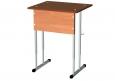 стол ученический одноместный регулируемый   600Х500Х640/700/760