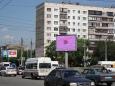 Экран на пересечении Комсомольского проспекта и ул. Молодогвардейцев