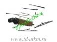 Стеклоочиститель с приводами и тягами в сборе (электрический)