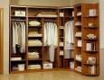 Гардеробный шкаф (угловой)
