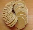 Подрозетник  d-50 круглый деревянный