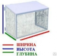 Защита антивандальная разборная для кондиционера 900 х 600 х 500 мм