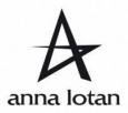 Плед флисовый с логотипом «Anna Lotan» 140х180