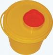 Емкость-контейнер для сбора острого инструментария ЕПМ-01 (1 литр)