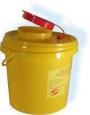 Емкость-контейнер для сбора острого инструментария ЕПМ-01 (3 литра)