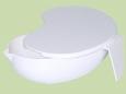 Лоток полимерный почкообразный ЛПпо-1,75 (с крышкой)