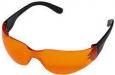 Защитные очки LIGHT, оранжевые