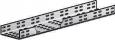 Лоток прямой монтажный перфорированный (h-100 мм) ЛМ200 УХЛ2,5