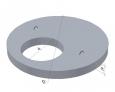 Крышка колодца ПП10,1(1000*150*700)