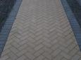 Плитка тротуарная Кирпичик 200*100*40(серая)