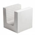 Блок силикатный U-образный для оконных и дверных перемычек (СБU-250)