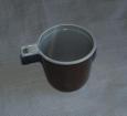 Кофейная кружка 200мл. коричн.-белая (МОПС) 50/2000