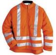 Куртка сигнального цвета с защитой от прорезания