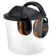 Оснащение для защиты лица и слуха с пластиковым щи 2