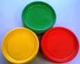 Тарелка (Виконт) цветная d165мм 100/2400