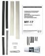 Комплект для сращивания электрических нагревательных лент MY-17