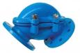 Клапан шаровый обратный коленный системы SZUSTER фланцевый