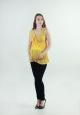 Блуза летняя желтая