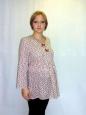 Блуза розовая из хлопка