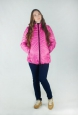 Куртка утепленная розовая