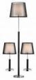 Комплект из торшера и двух настольных ламп 1429-SET Super-set