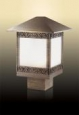 Уличный светильник на столб ODEON LIGHT 2644/1B NOVARA