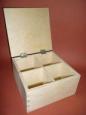 Чайная коробка на 4 деления