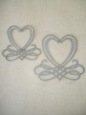 Декоративный элемент «Каллиграфические сердечки»