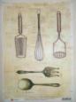 Декупажная карта Кухонные помощники