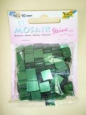 Мозаика «Глянцевая», цвет: оттенки зеленого