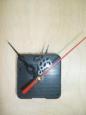 Часовой механизм со стрелками №7, красная секундная стрелка