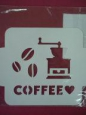 Трафарет «Кофемолка»