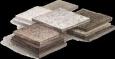 Модульные плиты из камня