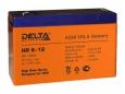 Аккумулятор Delta HR6-12 6V12Ah
