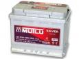 Аккумулятор Mutlu Calcium Silver 55 Ah пп