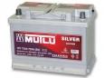 Аккумулятор Mutlu Calcium Silver 75 Ah пп