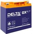 Аккумулятор Delta GX 12-17 17А/ч (181*77*167)