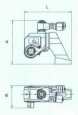 Гайковерт гидравлический кассетный ГКГ1800