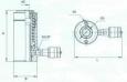 Домкрат с полым штоком ДП50П75