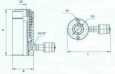 Домкрат ступенчатого подъема ДС100П515