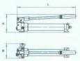 Насосы ручные гидравлические для работы оборудования с гидравлическим возвратом НРГ8080Р 148х635х189