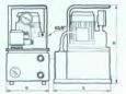 Насосная станция с электромагнитным распределителем с автоматическим управлением НЭА-0,8Г20Ф1