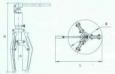 Пресс гидравлический для опрессовки кабельных наконечников и гильз ПП-НА12120