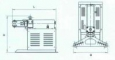 Съемник гидравлический СГ20