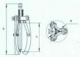 Съемник гидравлический СГ335У